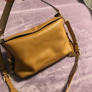 Michael Kors Brooke Pebble Leather Satchel